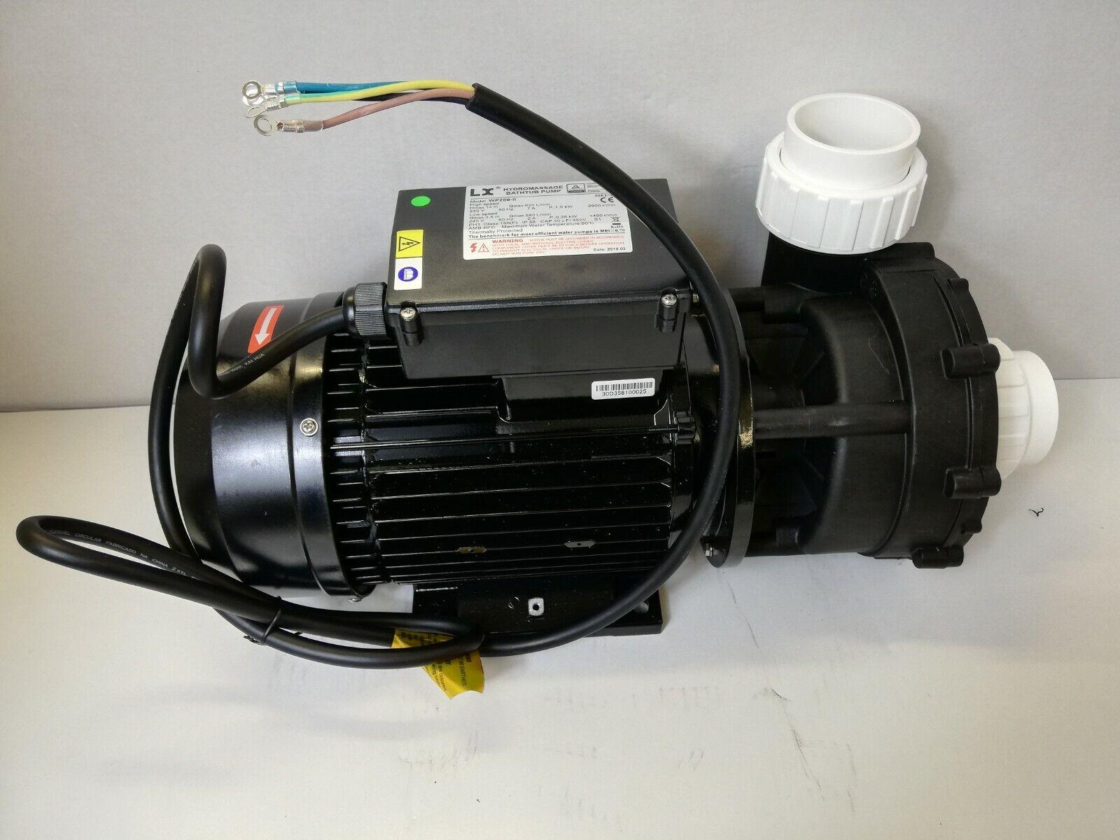 Wp200-ii LX Bomba de Hidromasaje Masaje Whirlpool 2200   450w, Dos Niveles