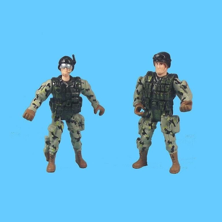 Spielset 15teilig Militär Fahrzeuge Jet-Ski Soldat Waffen Zubehör Special Force
