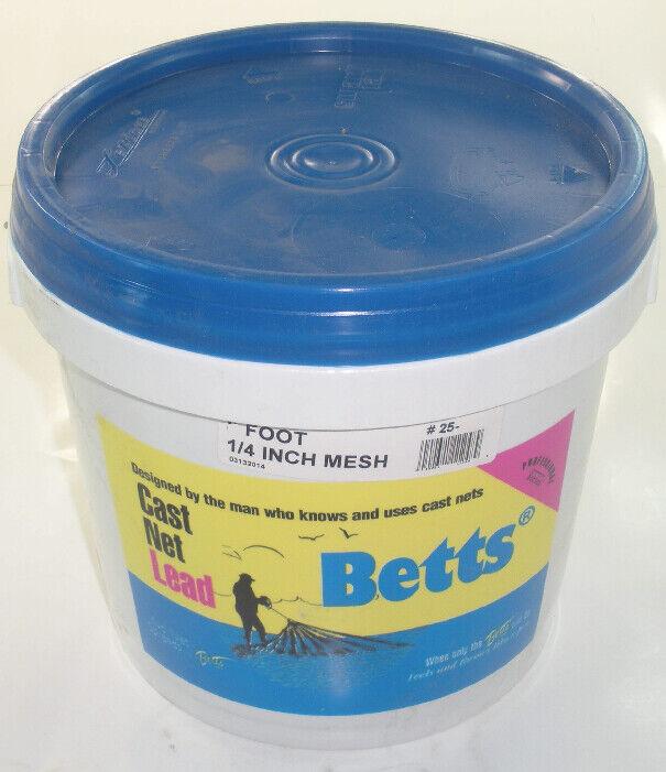 Betts 25-7 2,1 M pro Series 0.6cm Netzgewebe Gegossen Netz 18422
