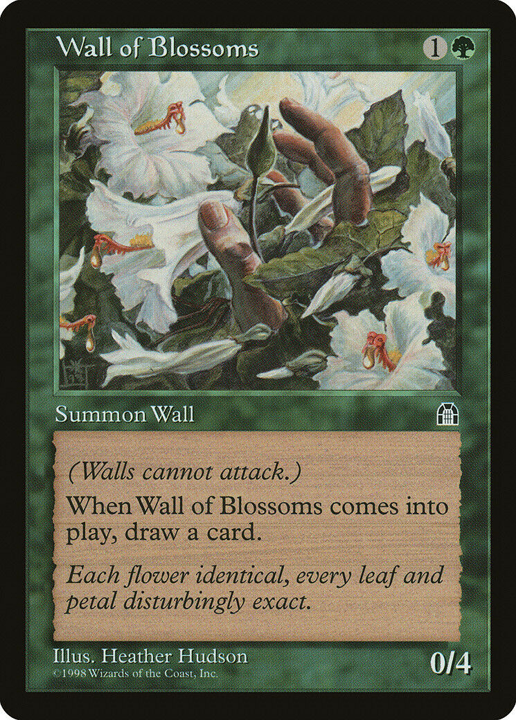 1x Wall of Souls Stronghold MtG Magic The Gathering LP Cond English