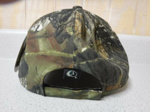 New  Lew/'s Cap  Mossy Oak Camo Front and Back  White Lews Patch    Adjustable