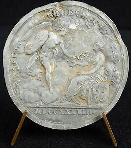 Medaglia-Pacificazione-Della-Geneve-Svizzera-Suiza-Svizzera-Luigi-XV-1738-Medal