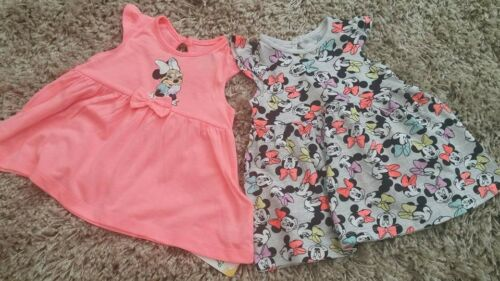 PRIMARK BABY GIRLS DISNEY MINNIE MOUSE SHORT /& TOP SET BNWT ALL AGES SUMMER