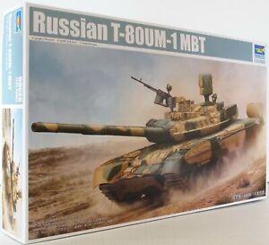 Trumpeter 1:35 09526 Maquette militaire russe T-80um Mbt