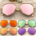 Retro Women Men Vintage Sunglasses Aviator Mirror Len Driving Glasses Eyewear