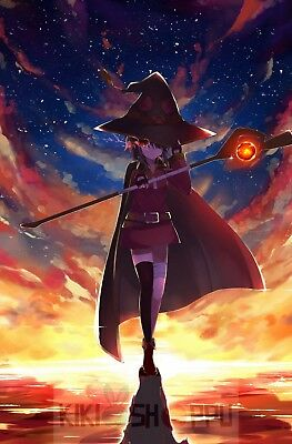 Poster 42x24 cm Kono Subarashii Megumin Manga Anime Cartel Decor Otaku 02
