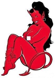 Sitting-Devil-Girl-STICKER-Decal-Poster-Artist-Coop-Left-Facing-CP4L-Large-Size