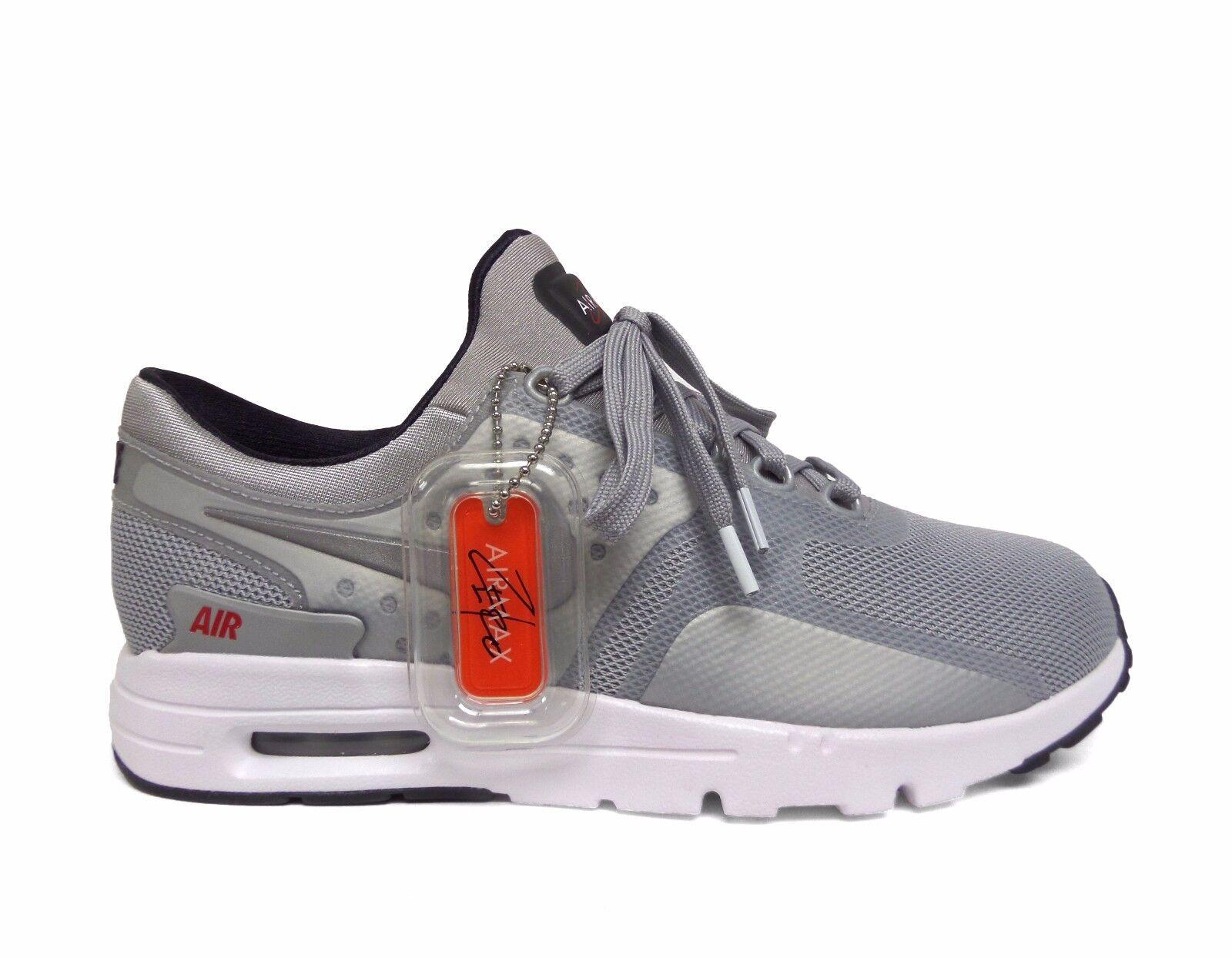 cheap for discount a41f0 1eea9 Nike Women s AIR MAX ZERO QS Training Shoes Shoes Shoes Metallic Silver  863700-002 b