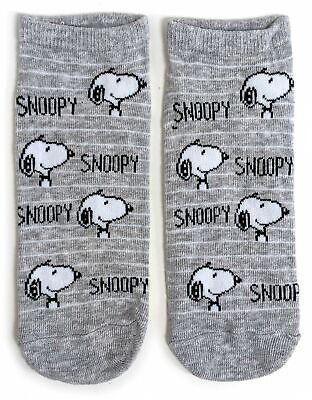 LADIES SNOOPY DEEP THOUGHT PINK SHOE LINERS SOCKS 4-8 UK 6-10 US 37-42 EUR