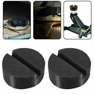 Details about 2X Rubber Pad with Slots, Hydraulic Ramp, Jack, Jacking Pad  Adapter Trolley Jack