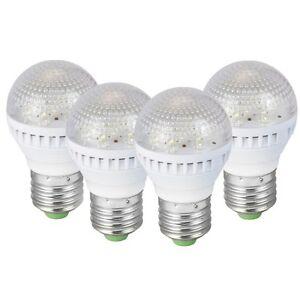 4-Pk-Energy-Efficient-7-LED-Light-Bulbs-15W-Incandescent-35-000-hr-life-span