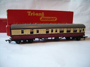 3 Tri-ang 00 Rolling Stock Br Passenger Coach's