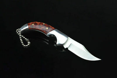 Pocket Folding Knife Saber Hunting Camping Fishing Survival Rescue Tool