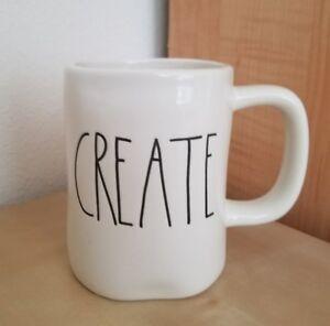BRAND-NEW-Rae-Dunn-By-Magenta-CREATE-Coffee-Tea-Mug-Farmhouse-Home-Decor