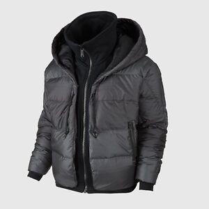 f92899de1cbc Nike Women s Uptown 550 Down Cocoon Hoodie Full Zip Jacket 683926 ...