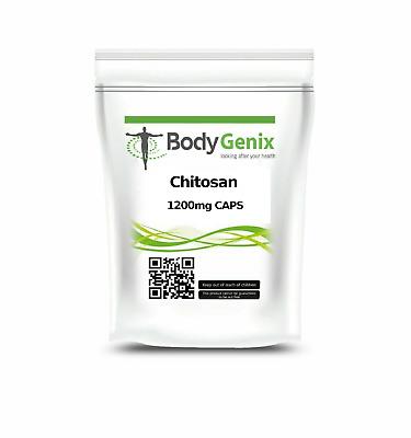 Bodygenix Chitosan 1200mg Capsule UK Manufactured Quick Free First Class  Post   eBay