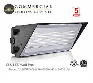 LED Wall Pack Light 60, 90 and 150 Watt Security Outdoor, UL-certified, Bronze