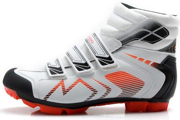 zapatos MTB BICI INVERNALE hombres mujer DAL 40 AL 46 CICLISMO WINTER BIKE zapatos NEW