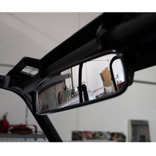 "Clamp ATV UTV 15/"" Rear View Race Mirror Fits For Polaris Yamaha Honda Adjustable"