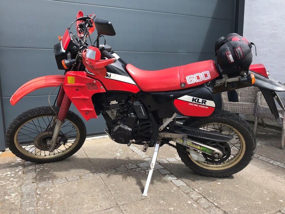 Kawasaki, KLR600, 600 ccm