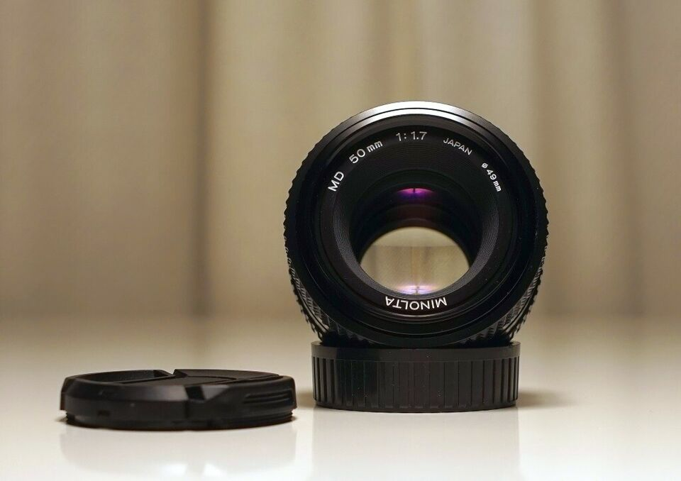Standardobjektiv, Minolta, MD 50mm f1.7