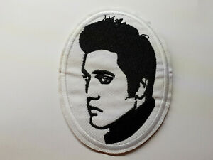 ELVIS-PRESLEY-PORTRAIT-iron-on-or-sew-on-Patch-love-my-tender-the-King-of-rock