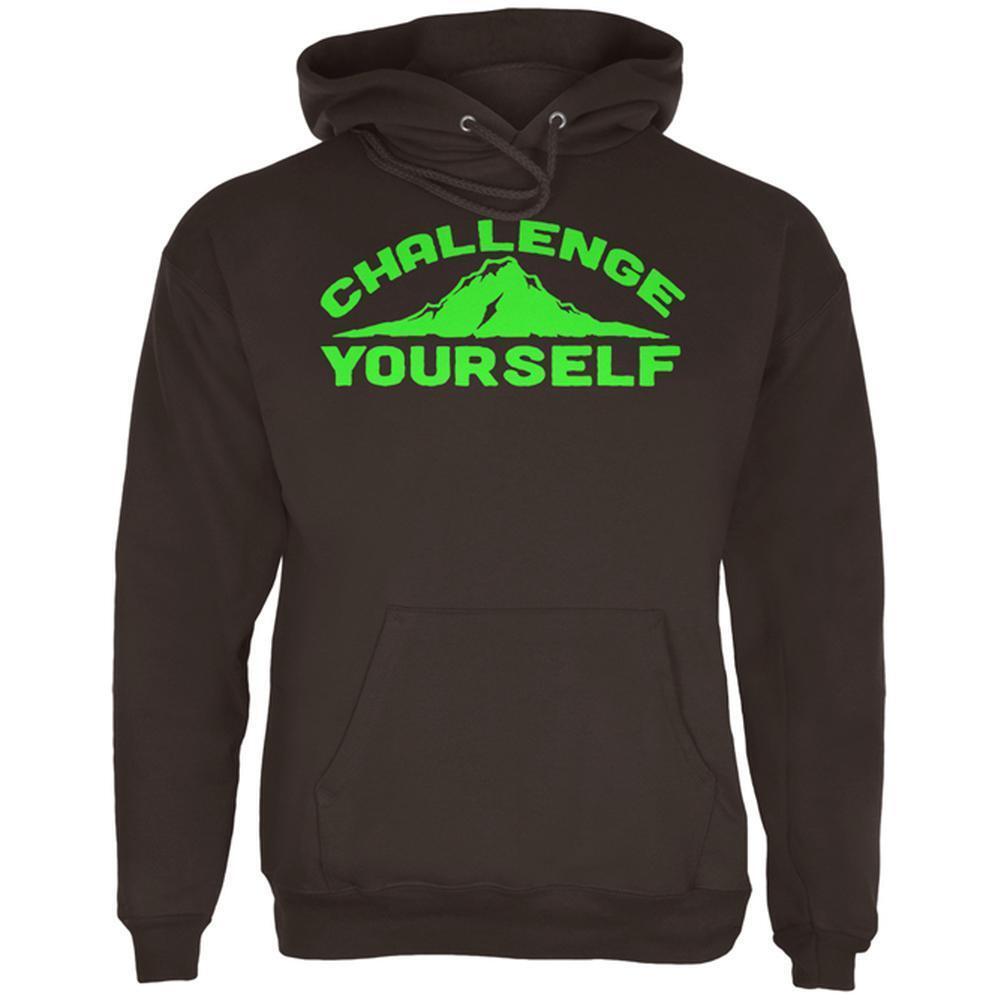 Challenge Yourself  Herren Hoodie