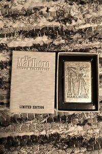 Marlboro Zippo Lighter Flat Top
