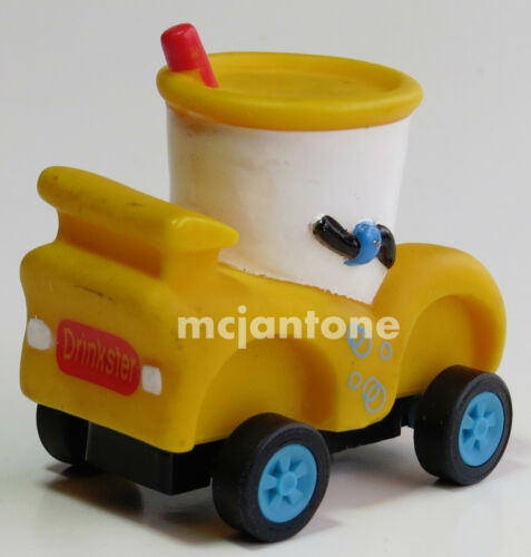 Target Food Avenue 1996 VERY FAST FOOD Character PULLBACK Car YOUR Toy CHOICE