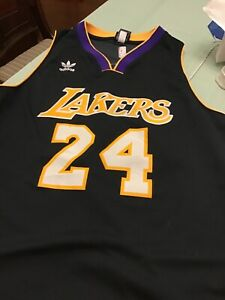 adidas kobe bryant jersey 2xl Worn One Time In 10 Years Limited ...