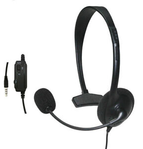 casque filaire casque ecouteurs microphone pour sony playstation 4 ps4 jeu hot ebay. Black Bedroom Furniture Sets. Home Design Ideas