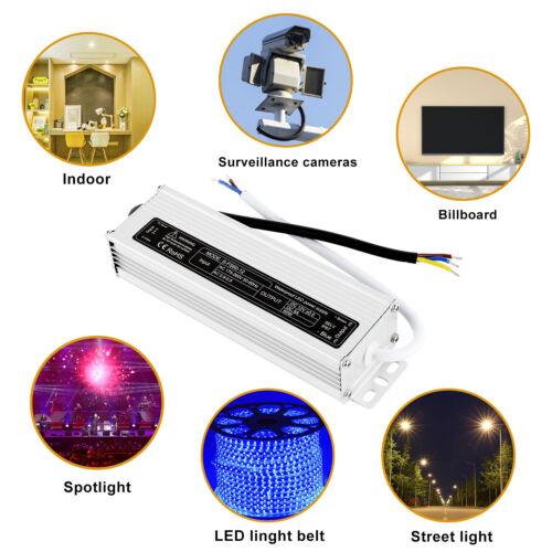 LED Driver Trafo 12V 60W 80W 100W 120W 150W 200W Netzteil Treiber Transformator