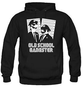 Old-School-Gangster-Kapuzenpullover-Gamer-Retro-Kult