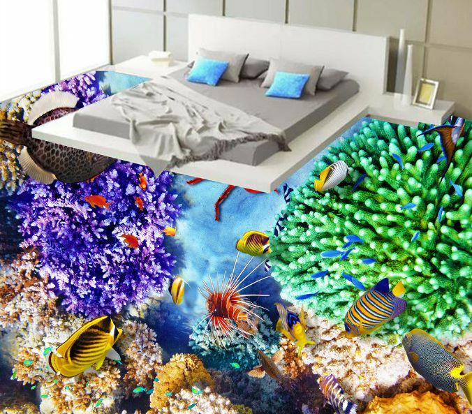 3D Halobios Waterweeds 0 Floor WallPaper Murals Wall Print Decal 5D AJ WALLPAPER