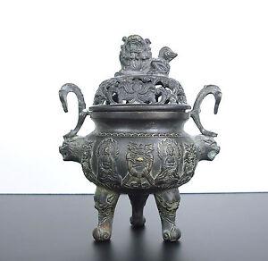 Antique Burns Incense Brand Apocryphal Xuan Of Ming China Incense Burner