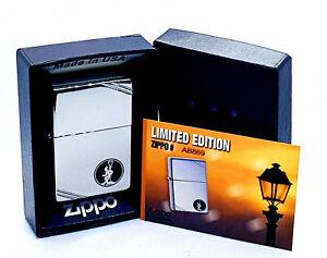 New-Rare-Zippo-Lighter-w-Box-Classic-Reveler-Vintage-Series-Limited-Edition