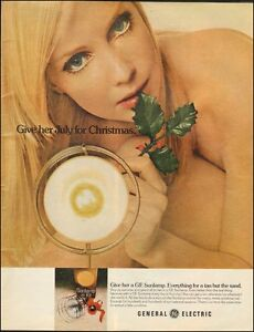 1972-Vintage-ad-for-GE-Sunlamp-Sexy-Blonde-model-Christmas-121015