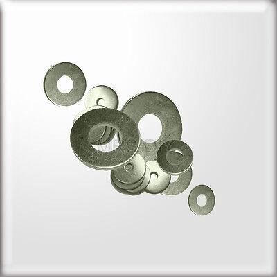 Ausdauernd M6 6 Mm Loch X20mm Durchmesser A2 Edelstahl Pfennig Unterlegscheiben Für