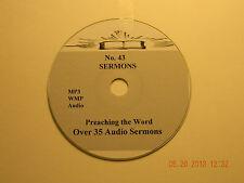 No 43,  Over 35  Audio Sermons CD, MP3