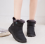Winter-Women-Warm-Shoes-Snow-Boots-Fur-lined-Slip-On-Warm-Ankle-Shoes-Waterproof thumbnail 4