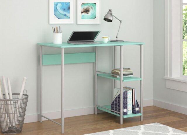 Surprising Basic Metal Student Desk Multiple Colors Computer Table Storage Workstation Home Remodeling Inspirations Basidirectenergyitoicom