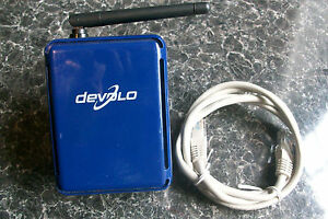 Copieux Devolo Dlan 85 Wireless Homeplug Adaptateur 1208 Mt 2093 Bleu Wifi Ii 2-afficher Le Titre D'origine