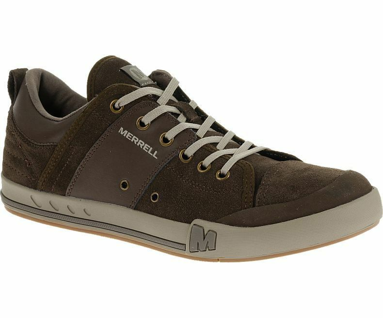 Merrell Rant Dash Mens Casual Suede Lace Up Turnschuhe Trainers