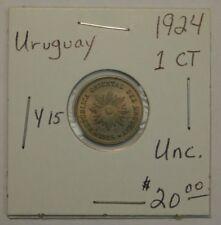 Uruguay 2 Centesimos, 1924