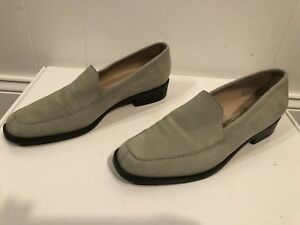 a85c81cc475 Enzo Angiolini Women s light Blue Lafayet 10 Suede loafers Size 7.5 ...