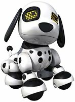 Zoomer Zuppies Interactive Puppy Personal Robot Dog Lights Sounds Spot