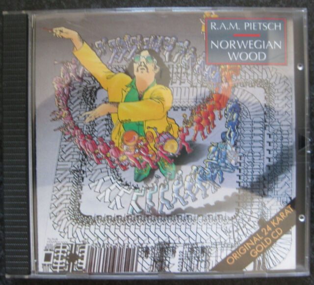 R.a.M.Pietsch - Norwegian Wood - 24 Karat Gold-CD - in top Zustand