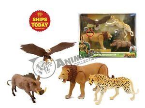 JUMANJI-Wild-Kingdom-Collection-LION-CHEETAH-Animal-Action-Figures-LANARD-2019