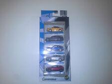 AUTO SET AUDI BMW ALFA ROMEO MITSUBISHI VOLVO 1:72 CARARAMA. NEW IN BOX.