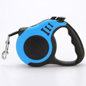 5M Dog Retractable Leash Automatic Cat Extending Lead Roulett L5C8 Puppy D6D4